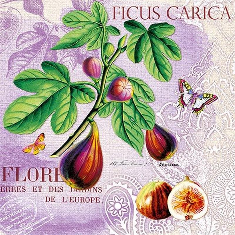 Χαρτοπετσέτα για Decoupage Fiorentina pearl white, 1 τεμ