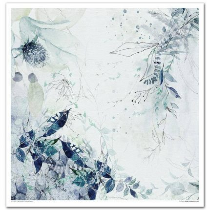 Album Scrapbooking ITD μονής όψης, The world of ice porcelain, 10 τεμ.