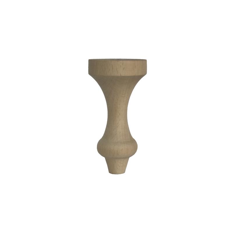 Ποδαράκι ξύλινo, 7x7x14cm