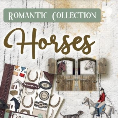Horses Collection Stamperia