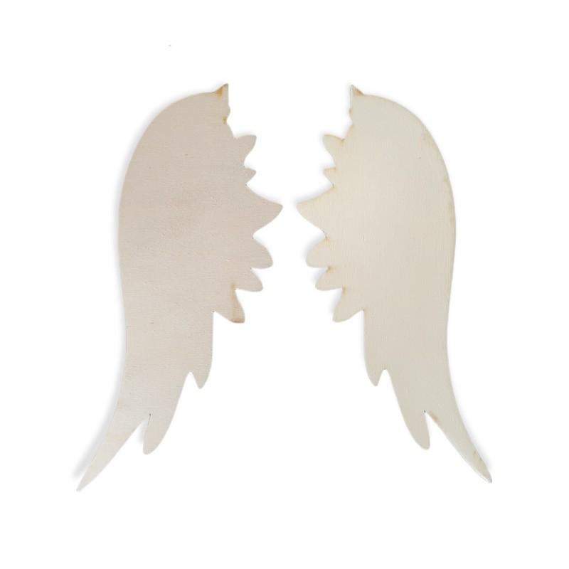 Φτερά αγγέλου ξύλινα μεγάλα σετ 45,5cm