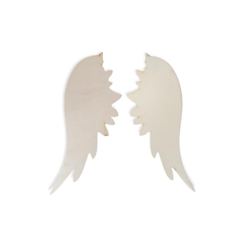 Φτερά αγγέλου ξύλινα μικρά σετ 26,5cm