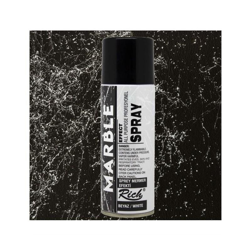 Σπρέι για εφέ μαρμάρου Spray Marble Effect, Μαύρο, 200ml
