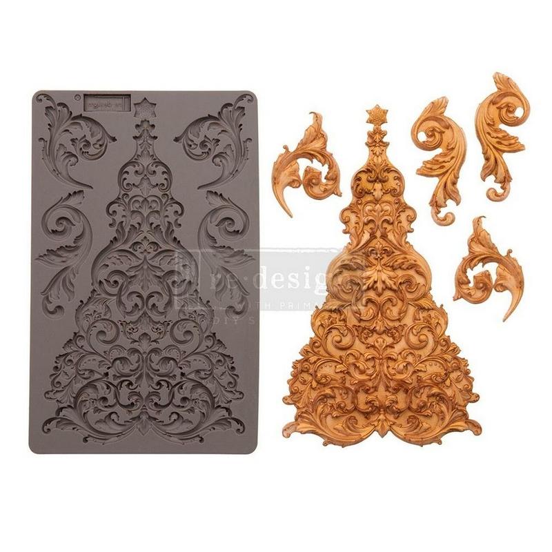 Καλούπι Redesign Prima Marketing 13x20cm, Snowflakes Jewels