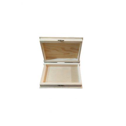 Κουτί-ατζέντα μεσαία ξύλινη, 25x19x5cm