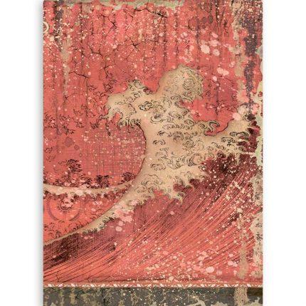 Διαφανή φύλλα backround A4 (4 εκτυπωμένα-2 γραμμικά) Stamperia, Winter Tales