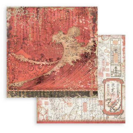 Χαρτιά scrapbooking Stamperia 10τεμ, 15.24x15.24cm Pink Christmas