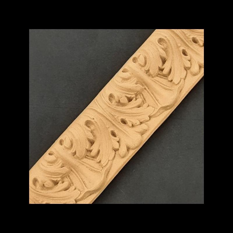 Ξυλόγλυπτο προφίλ Κορνίζας, 58x4,5x2cm