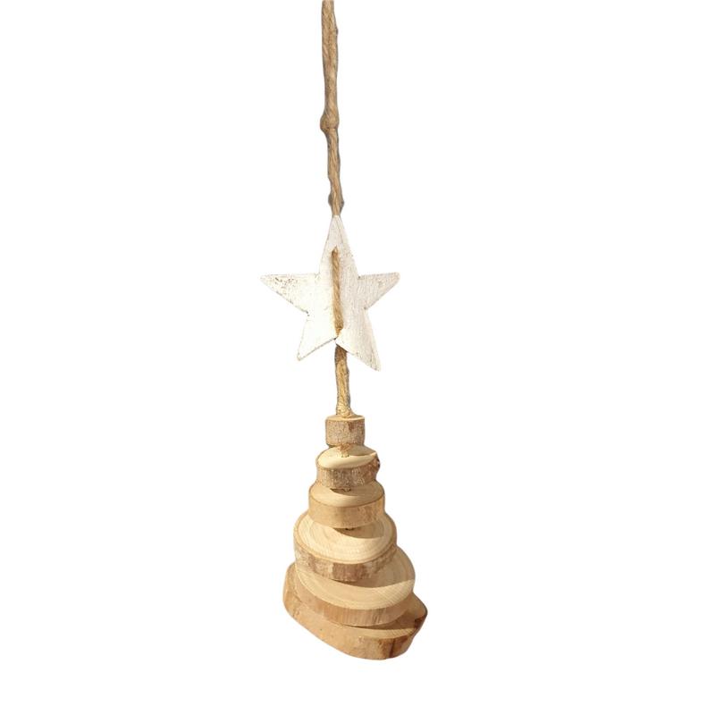 Κορμοί δέντρου - Χριστουγεννιάτικο δεντράκι, 25cm